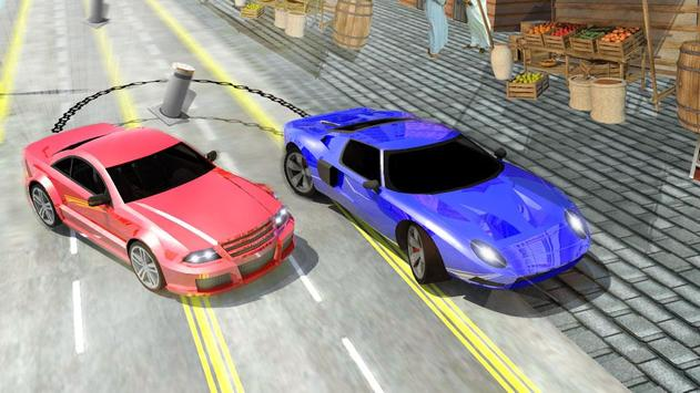 Crazy Chained Car Racer screenshot 1