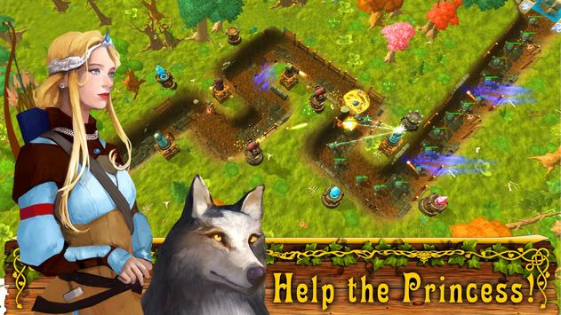 Fantasy Realm TD: Tower Defense Game poster