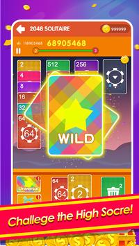 2048 Cards Casual - 2048 Solitaire Games screenshot 1