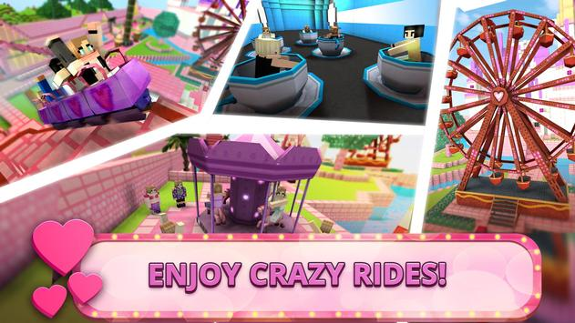 Girls Theme Park Craft: Water Slide Fun Park Games screenshot 1