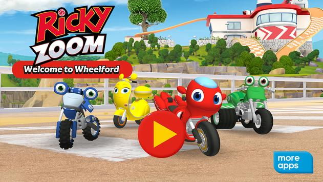 Ricky Zoom™: Welcome to Wheelford poster