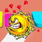 Angry Color Ball icon