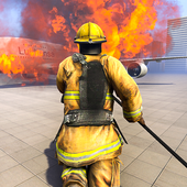 Firefighter Games : fire truck games icon
