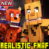 Realistic Five Nights At Freddys Addon Pack icon