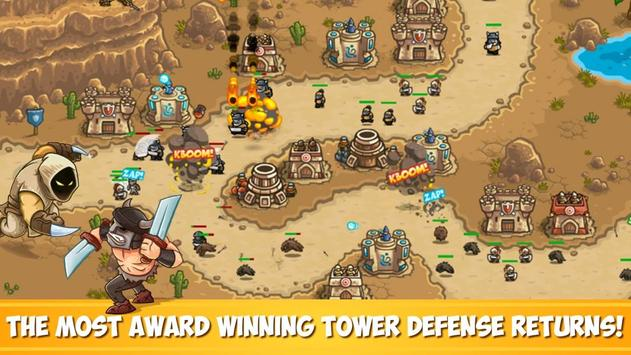 Kingdom Rush Frontiers - Tower Defense Game poster