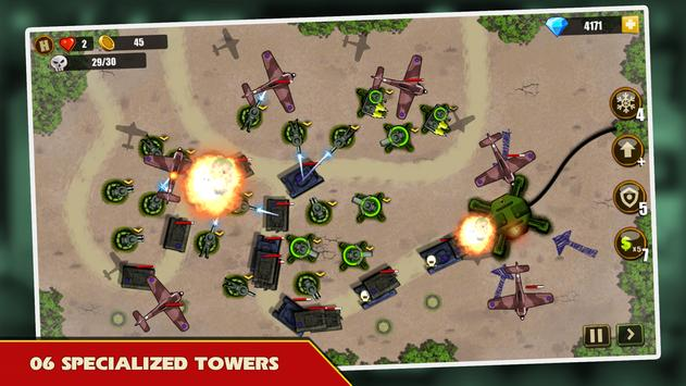 Tower Defense: Toy War screenshot 1