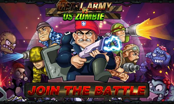 Army vs Zombies poster