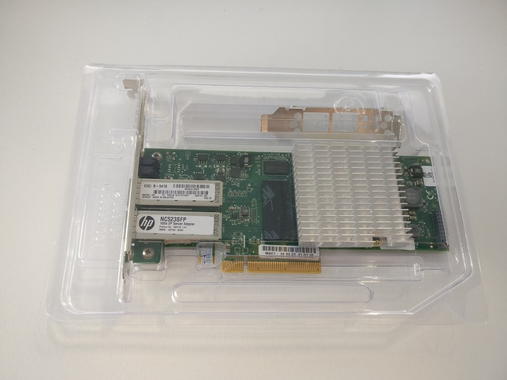 HP NC523SFP 10Gbe NIC