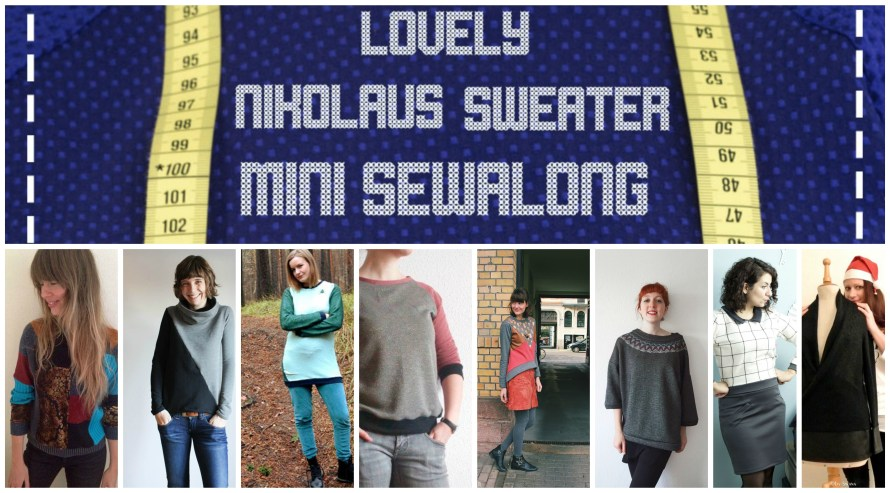 Lovely Nikolaus Sweater Collage