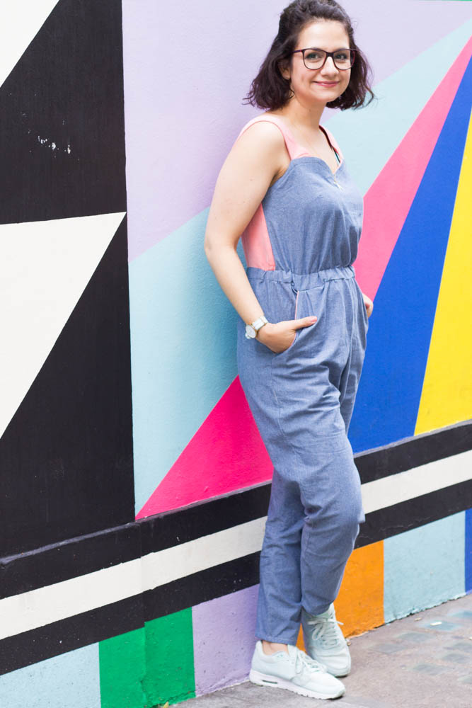 Tilly & The Buttons Marigold Jumpsuit made by Tweed & Greet