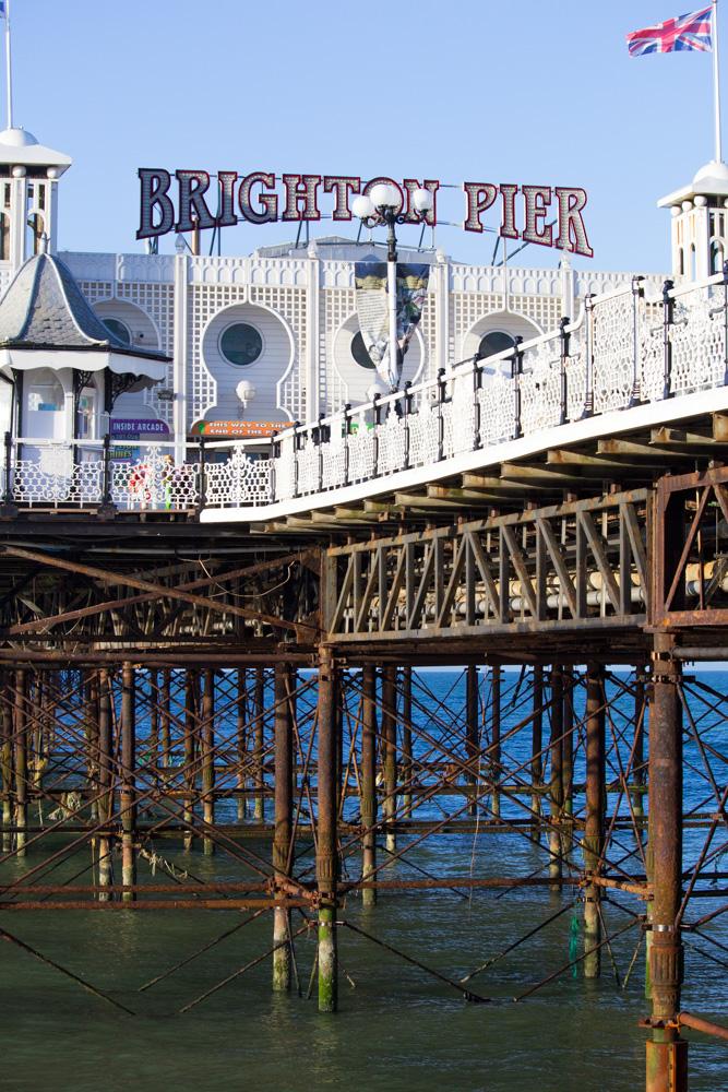 Brighton Pier - Tweed & Greet