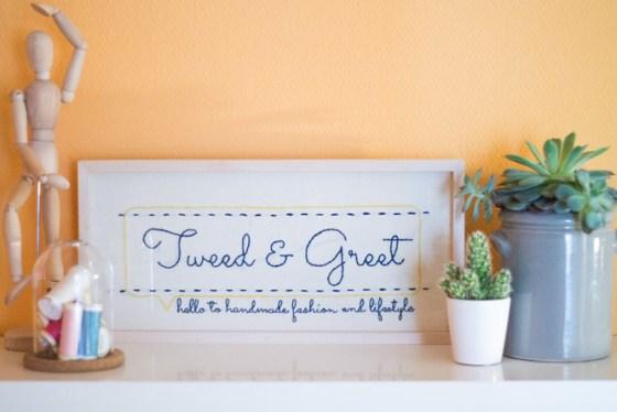 Tweed & Greet - Entstehung meines Blognamens