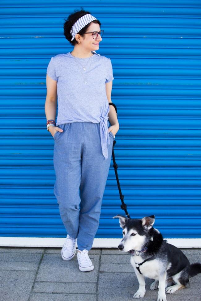 Selja Knot Tee - Named Clothing - made by Tweed & Greet