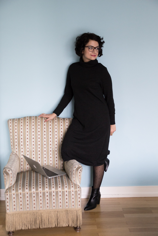 Kleid Neenah by Seamwork Mag - Tweed & Greet