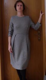L wie Ladycrawley Gedächtnis Kleid - Ulrike von Blaupause