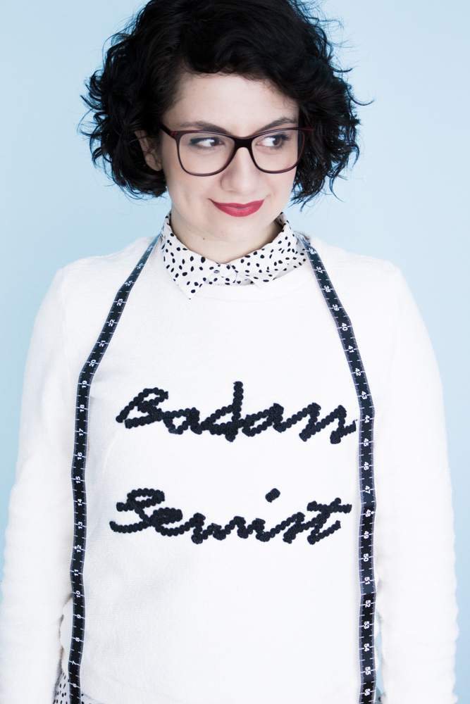 Sloane Sweater - named clothing - Badass Sewist - Tweed & Greet