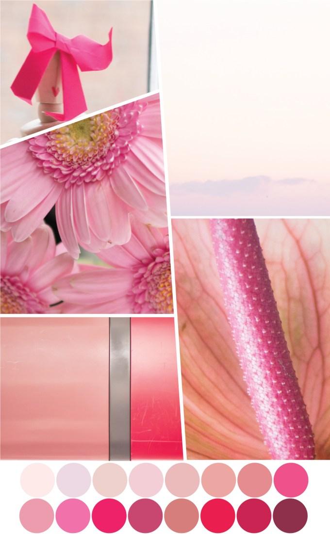 Farbpalette Rosa - Tweed & Greet