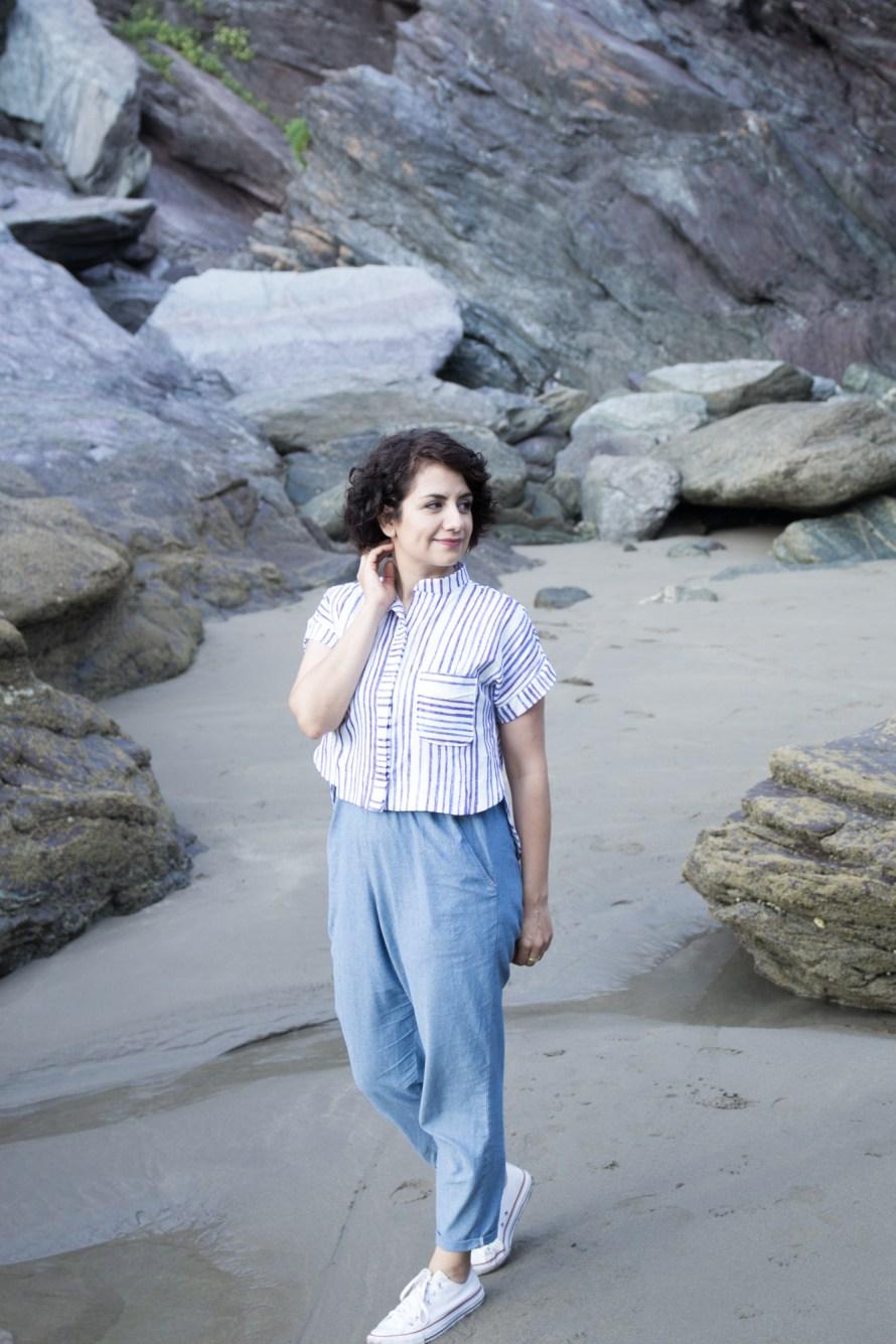 Kalle Shirt by Closet Case Patterns - Tweed & Greet
