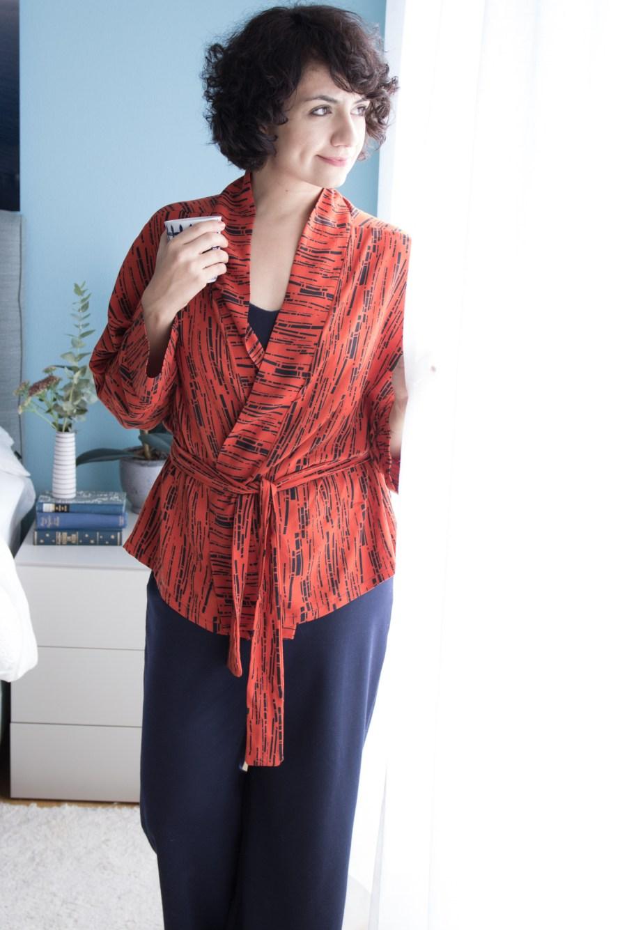 Tokyo Kimono - Tweed & Greet