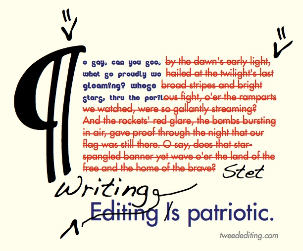 Writing and Editing Are Patriotic