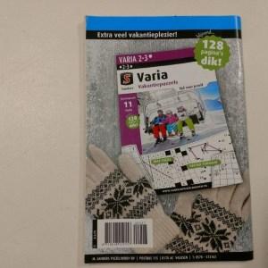 Puzzelboek Zweeds