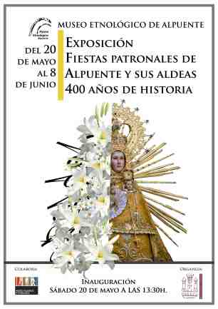 Cartel exposición fiestas 2017 RED