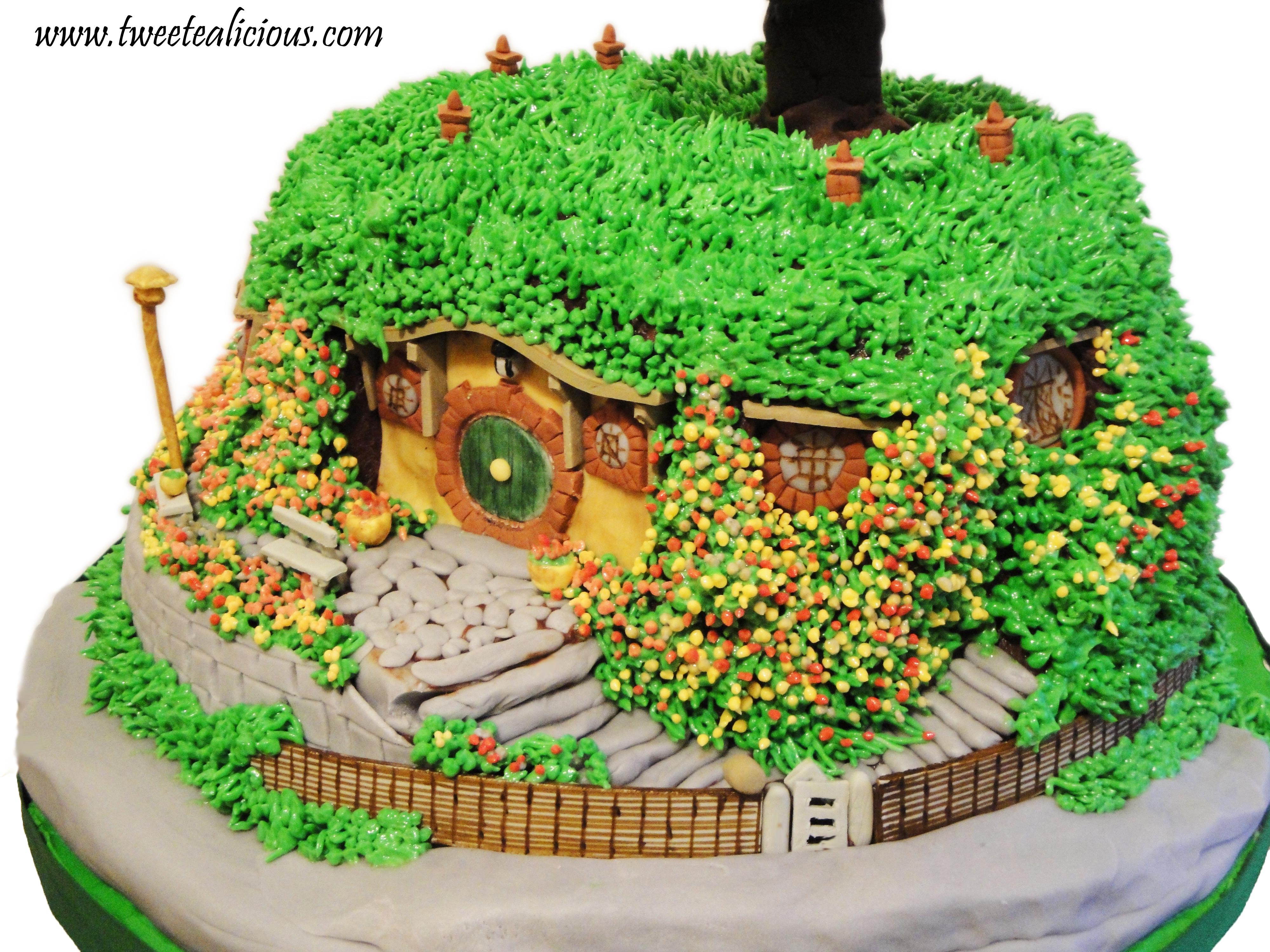 Lord Of The Rings Bag End Cake Twee Tea Licious