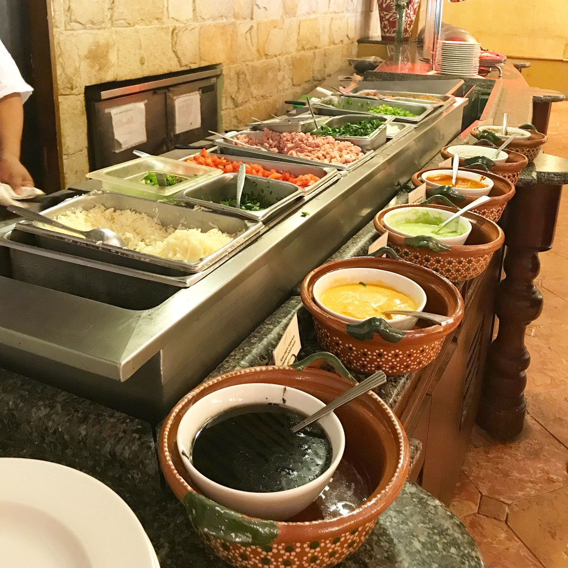 The food at Grand Fiesta Americana Los Cabos All-Inclusive Golf & Spa is beyond exceptional. It's hands down the best resort food I I have ever had.