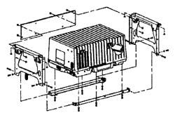 Under Floor Mtg. Kit4000/3600 Microquiet