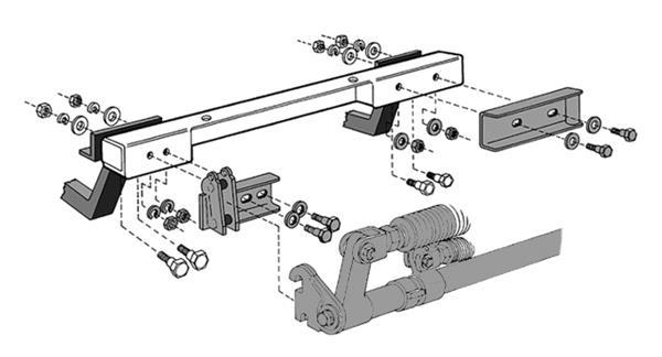 Roadmaster 038 Tow Bar Adapter