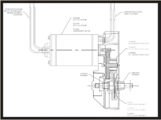Rv Slide Out Motor Gear RV Slide Out Motor Kit Wiring