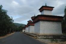 Stupas in Paro, Bhutan