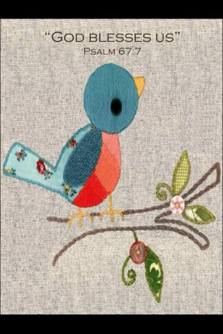 Stitch Bird:Blesses