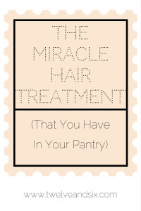 The Miracle Hair Treatment (That You Have in Your Pantry)