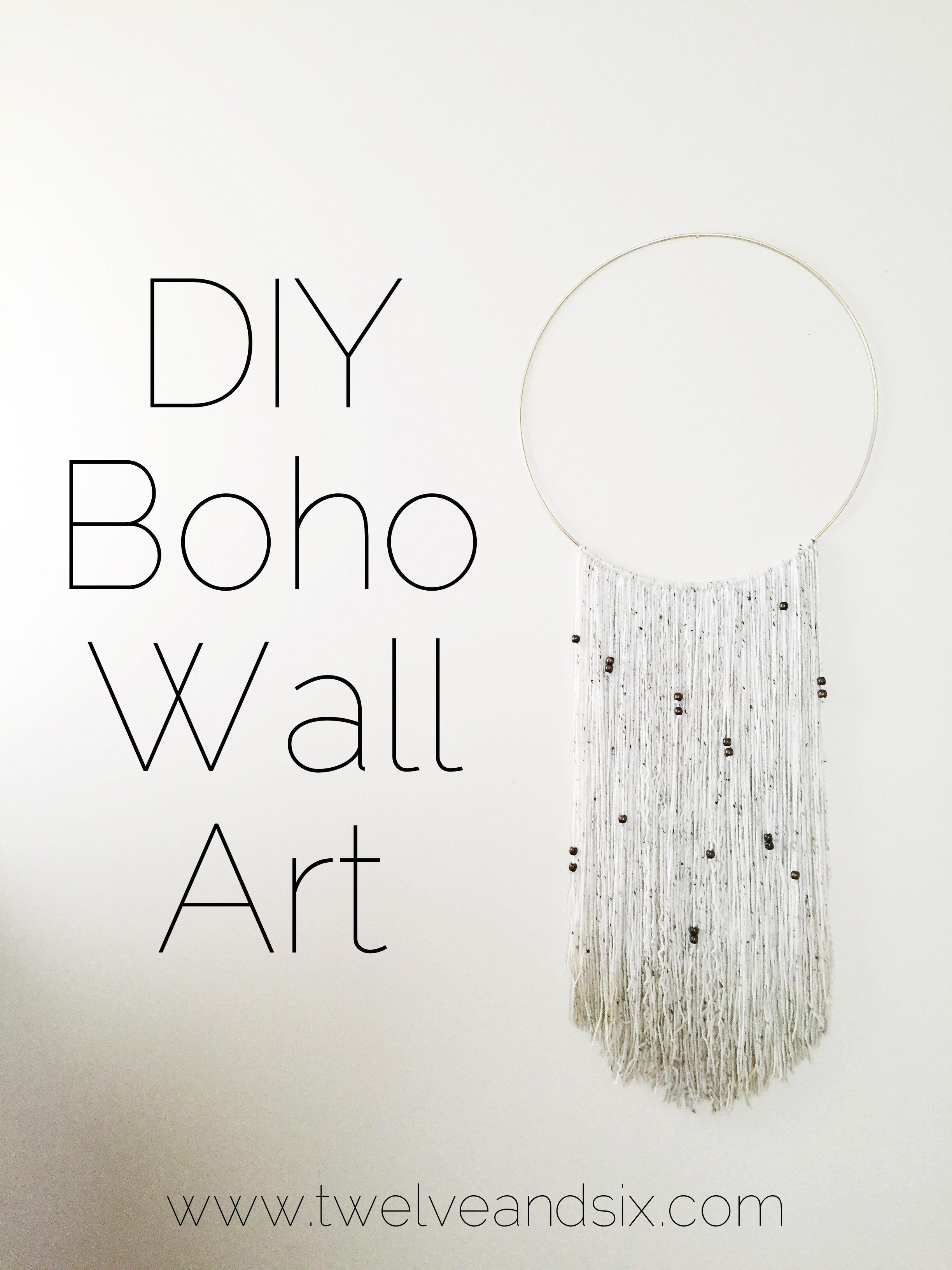 boho wall art