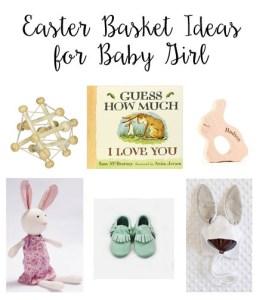 Easter Basket Ideas for Baby Girl