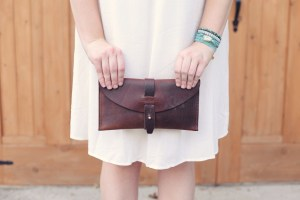 In My Closet | The Leather Clutch
