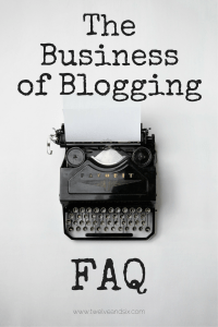 The Entrepreneur Files | Blogging FAQs