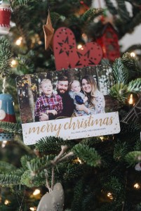 Holiday Greetings with Tiny Prints