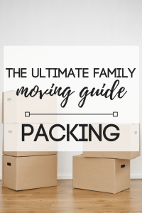 The Ultimate Family Moving Guide | Packing