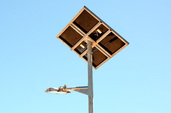 Composición de la lámpara solar
