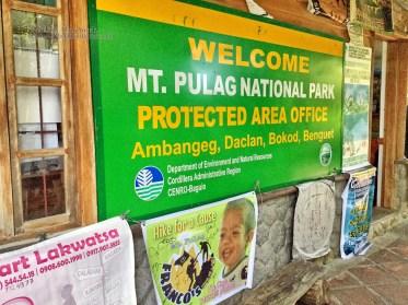 DENR registration office in Ambangeg, Bokod, Benguet