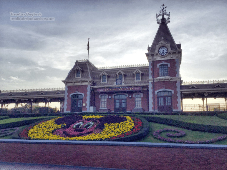 Facade of the Main Street Station