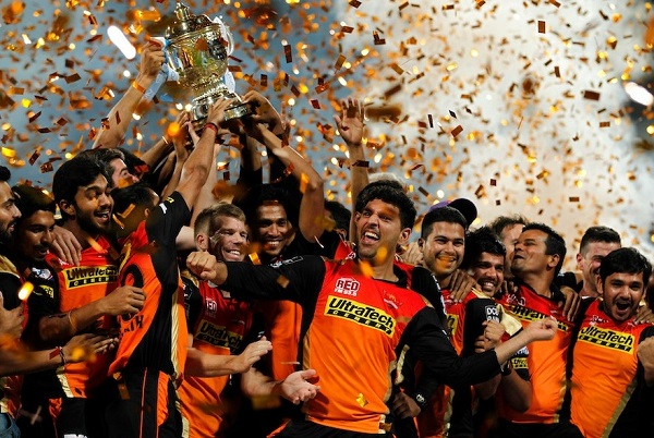 Sunrisers Hyderabad win Vivo IPL 2016