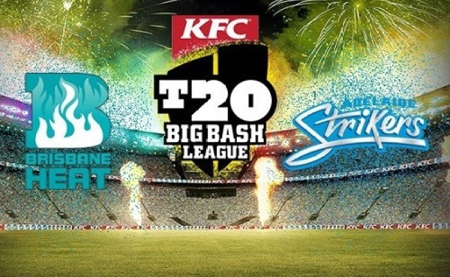 Adelaide Strikers Vs Brisbane Heat Live Streaming Bbl 06