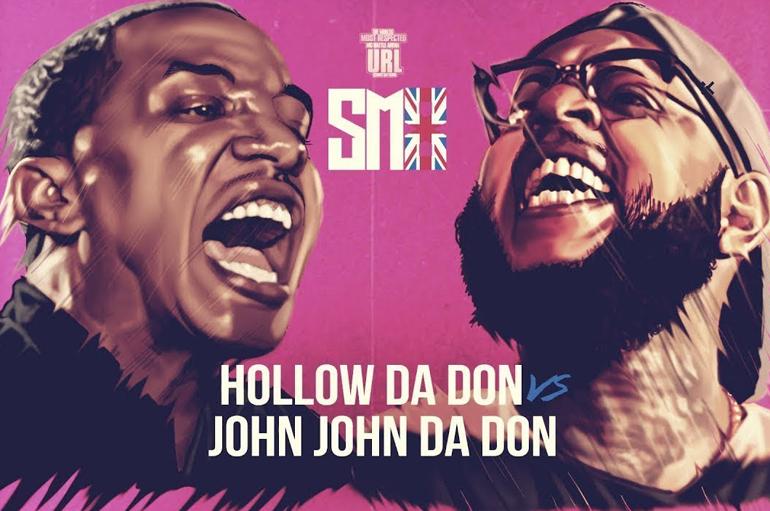 URL TV: Hollow Da Don VS John John Da Don (Rap Battle