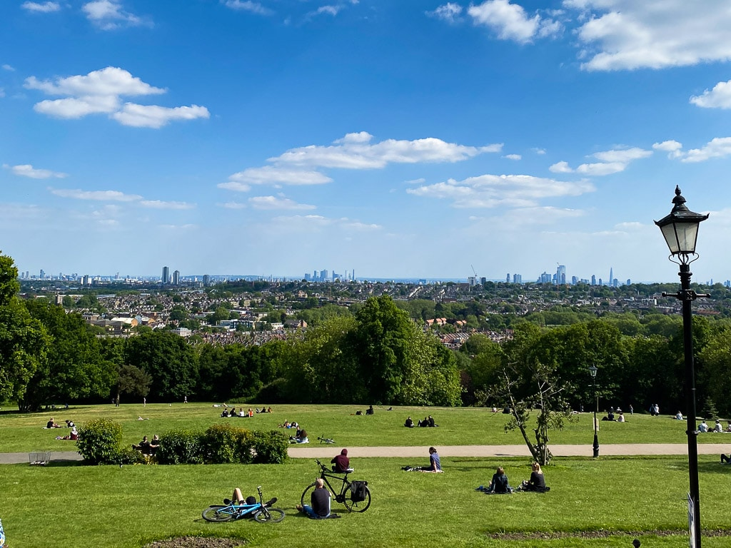 meilleures vues de Londres : Alexandra Palace