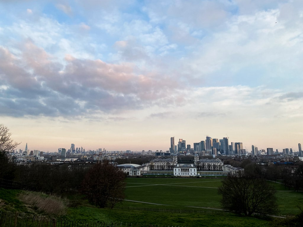 meilleures vues Londres : Greenwich Park