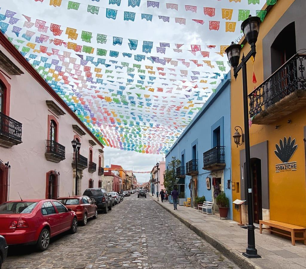 rue Oaxaca city