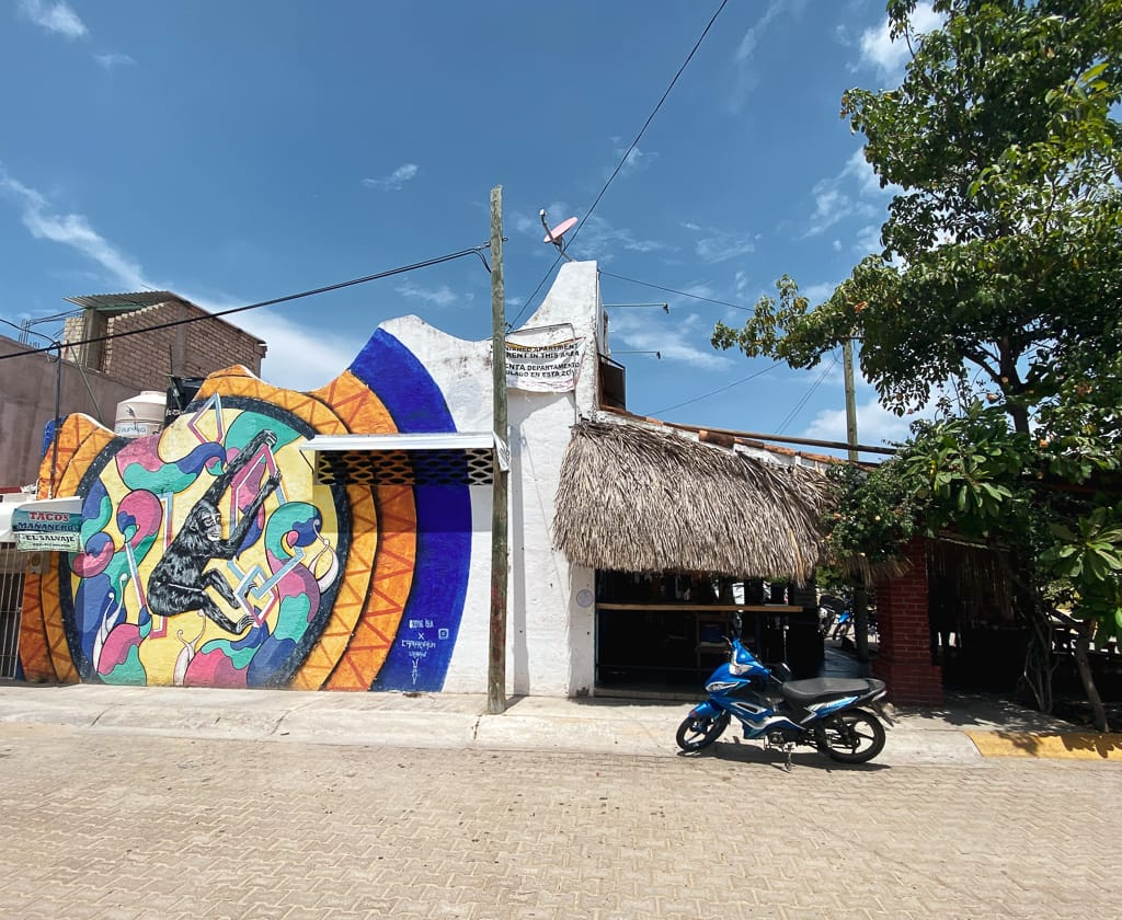 street art puerto escondido